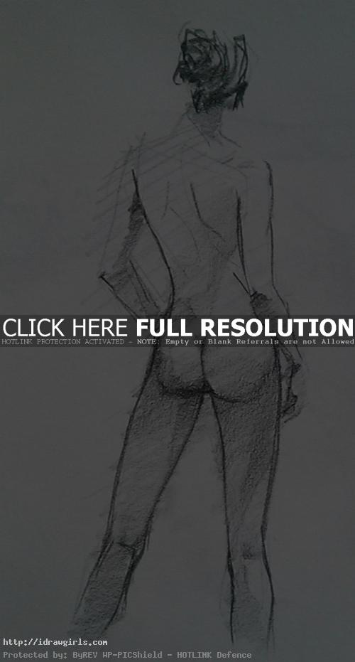 15 minutes life drawing