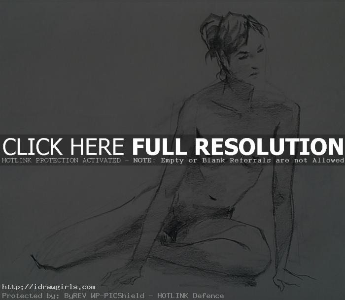 15 minutes life drawing 2