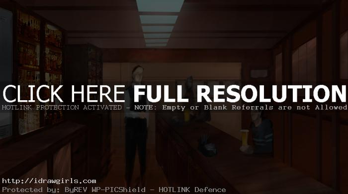 bar scene basic environmental concept
