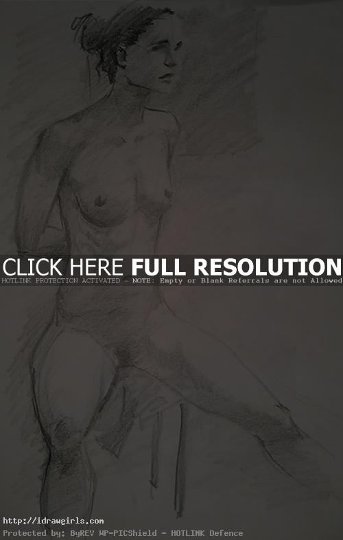 life drawing may2013 02 Ten minutes figure drawing