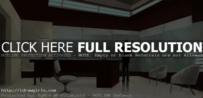 office environmental concept sketch Painting office concept art tutorial