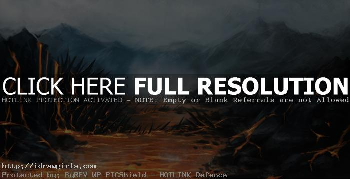 hidden magma serpent concept art Hidden lava serpent environmental concept tutorial