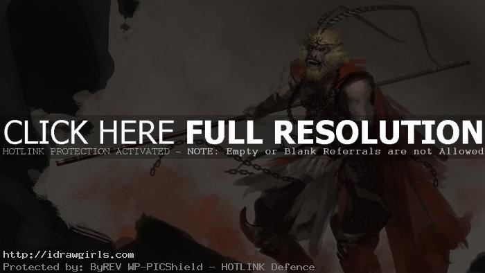 monkey king concept art
