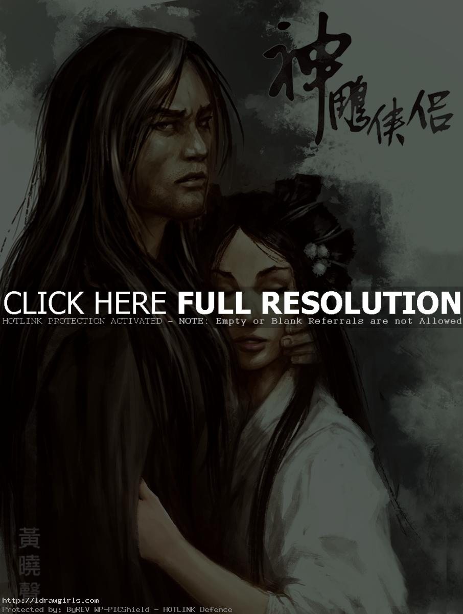 return of condor heroes 2013 Photoshop painting tutorial overlay mode
