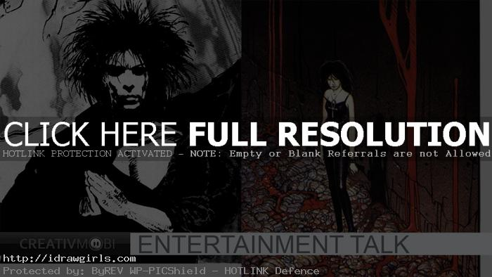 sandman death movie The Sandman comics is soon to be a movie.