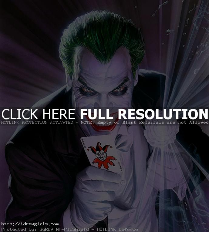 AlexRoss Top 5 amazing Joker artwork