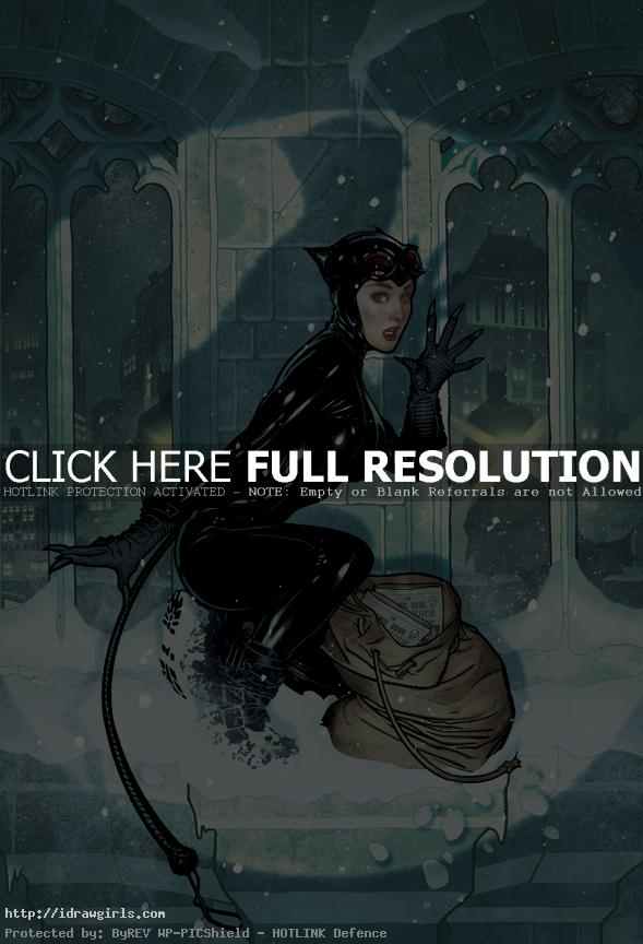 Top 5 amazing Catwoman artwork
