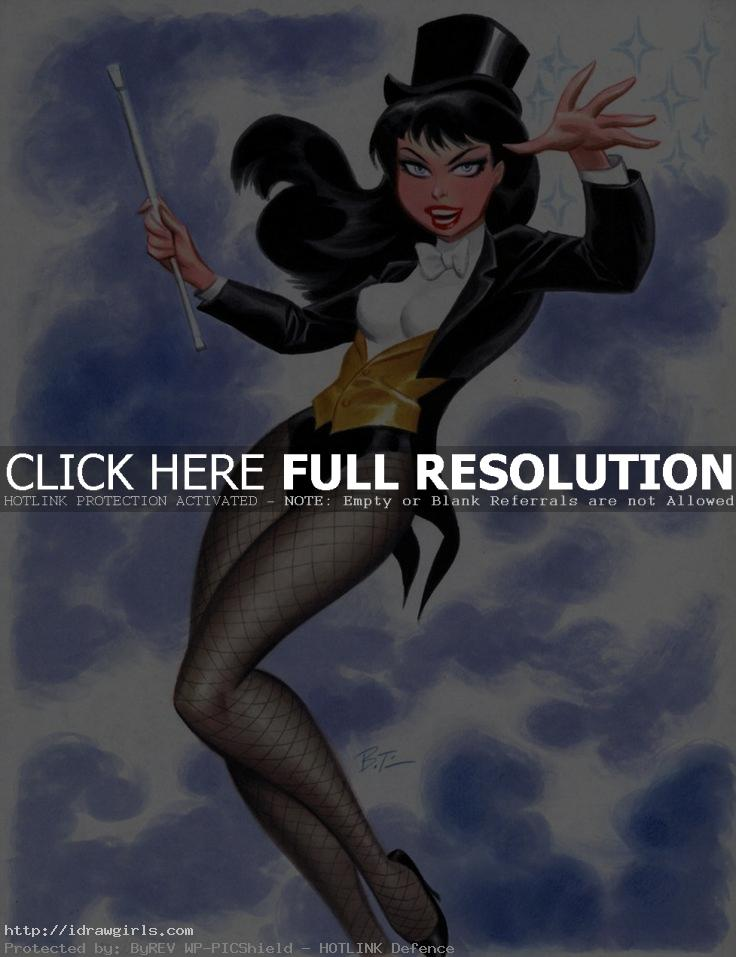 Zantana bruce timm Top 5 amazing Zatanna artwork