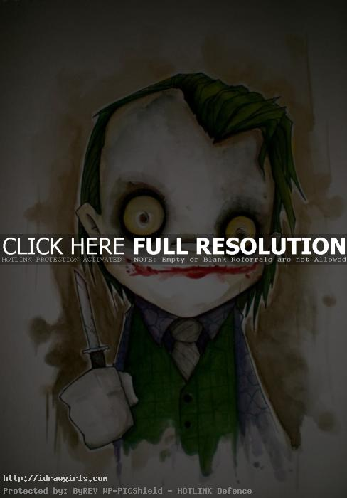 art by Christopher Uminga Top 5 amazing Joker artwork