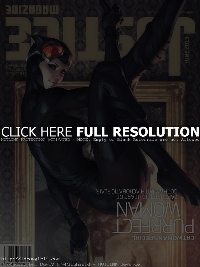 catwoman by artgerm Top 5 amazing Catwoman artwork