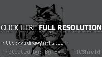 drawing rocket raccoon tutorial