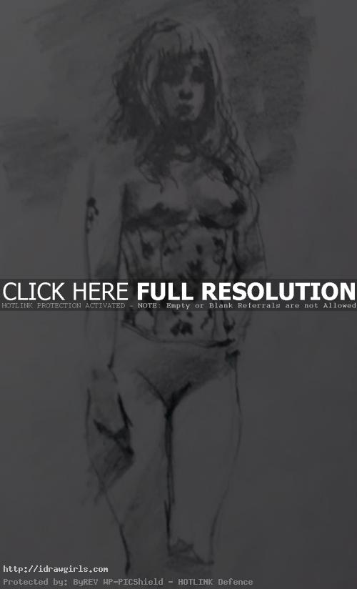 fifteen minutes figure drawing 02 by xia taptara