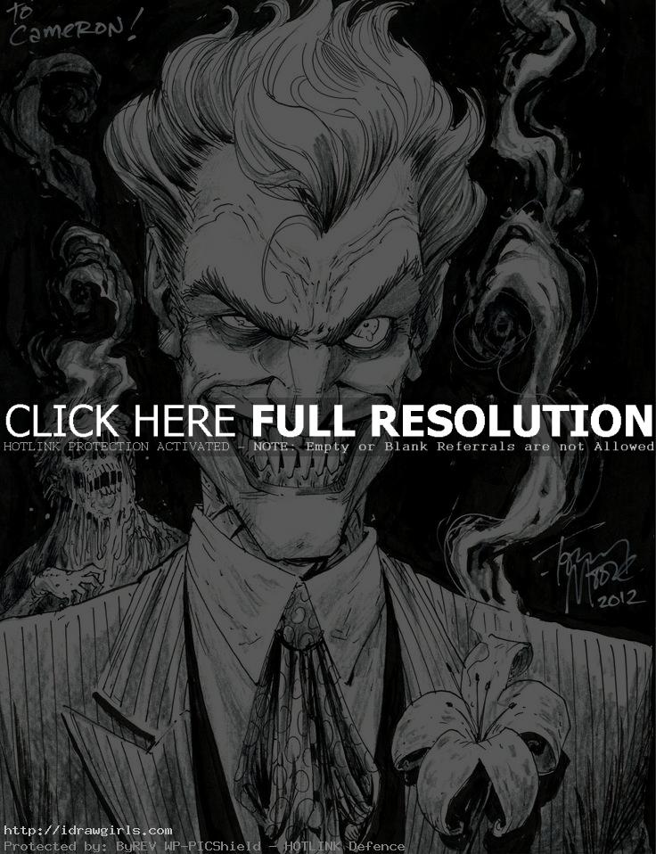 joker by tony moore Top 5 amazing Joker artwork