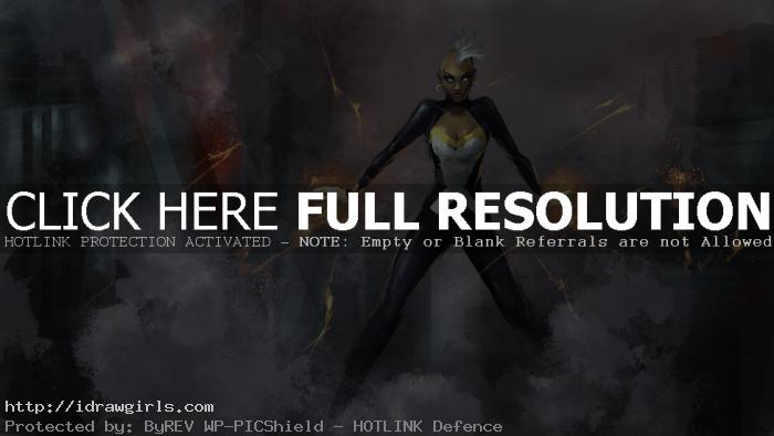 storm x men digital painting Digital painting tutorial Storm X men part 1 of 3