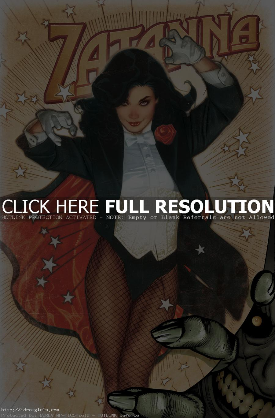 Top 5 amazing Zatanna artwork
