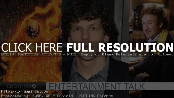 Jesse Eisenberg is Lex Luthor