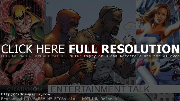 Marvel and Netflix deal four superheroes series