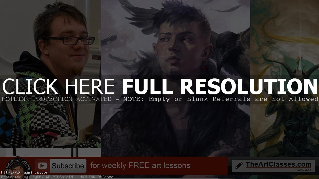 Artist interview, Peter Mohrbacher Magic The Gathering illustrator
