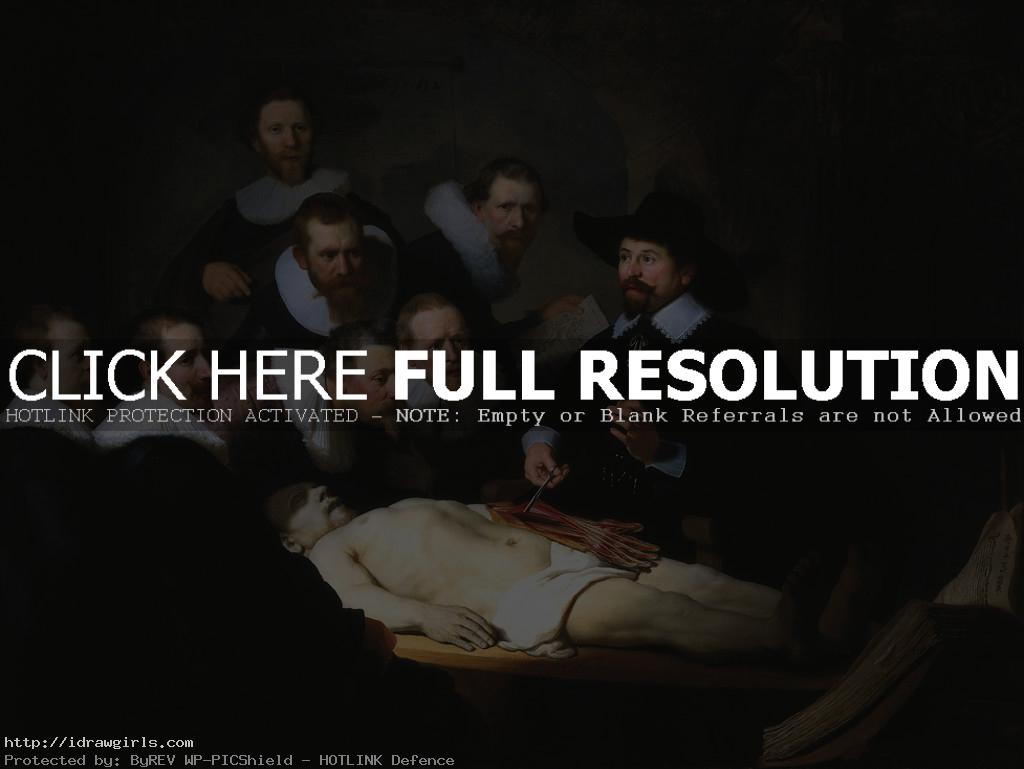 Rembrandt the anatomy lesson  Rembrandt the Grand Master