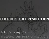 Creature design original drawing