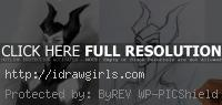 drawing maleficent tutorial