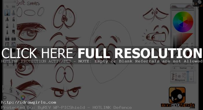 how to draw cartoon eyes How to draw cartoon eyes