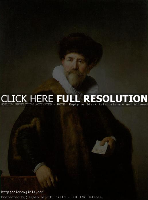 merchant portrait Rembrandt Rembrandt the Grand Master