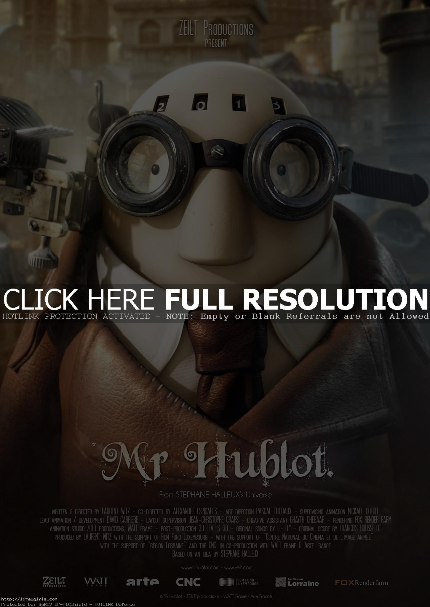 Mr. Hublot Oscars winning Animated Short 2014