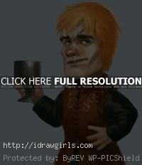 Tyrion Lannister portrait tutorial