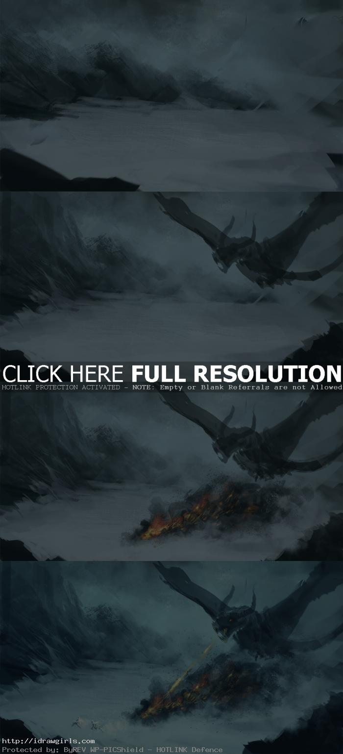 dragon hunter speedpainting tutorial