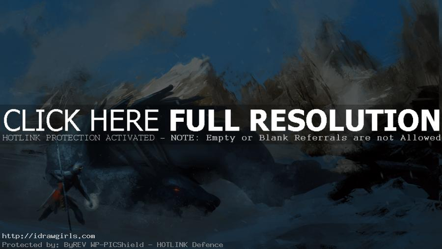 Daily speedpainting dragon slayer