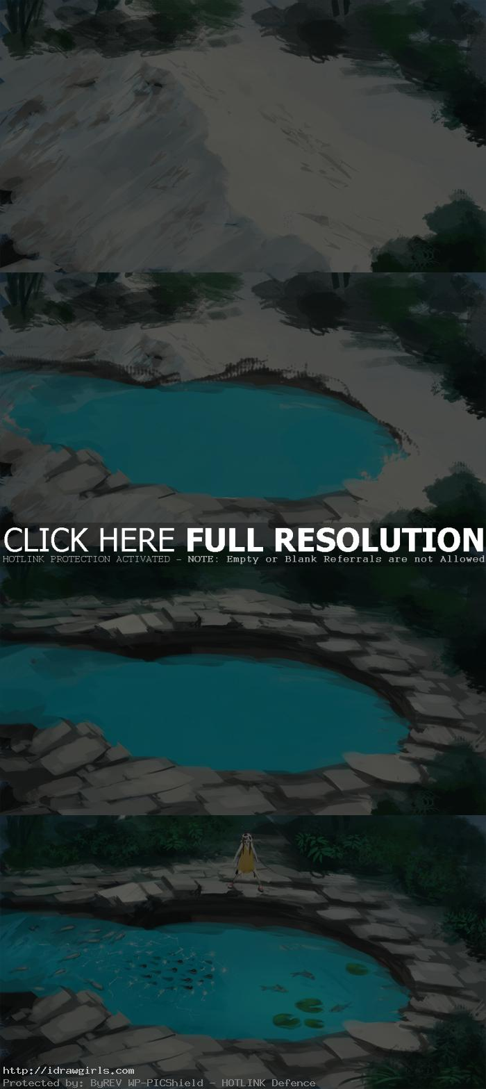 speed painting step by step Daily speedpainting deadly tadpoles