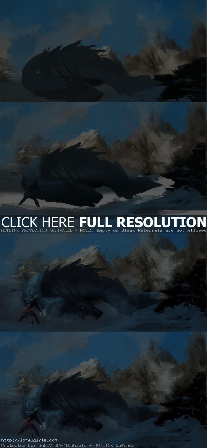speedpainting tutorial punch Daily speedpainting dragon slayer
