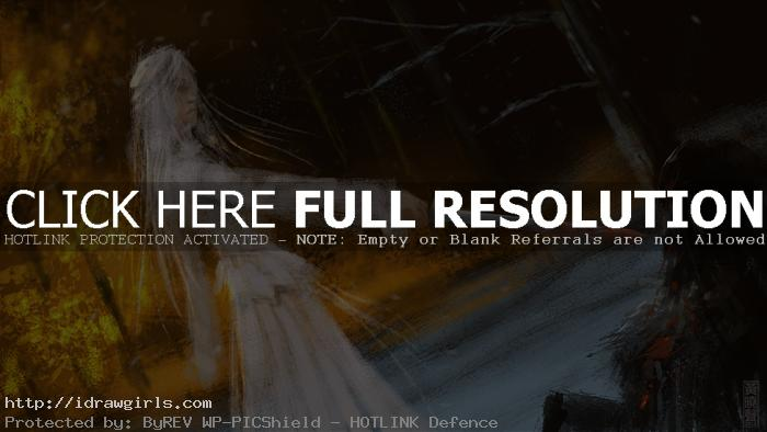 assassin in white speedpainting tutorial