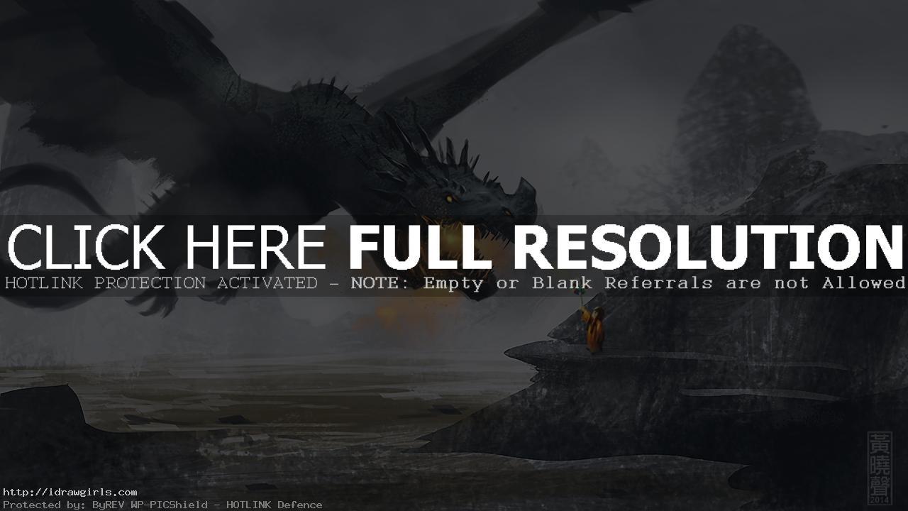 Dragon speedpainting digital painting tutorial