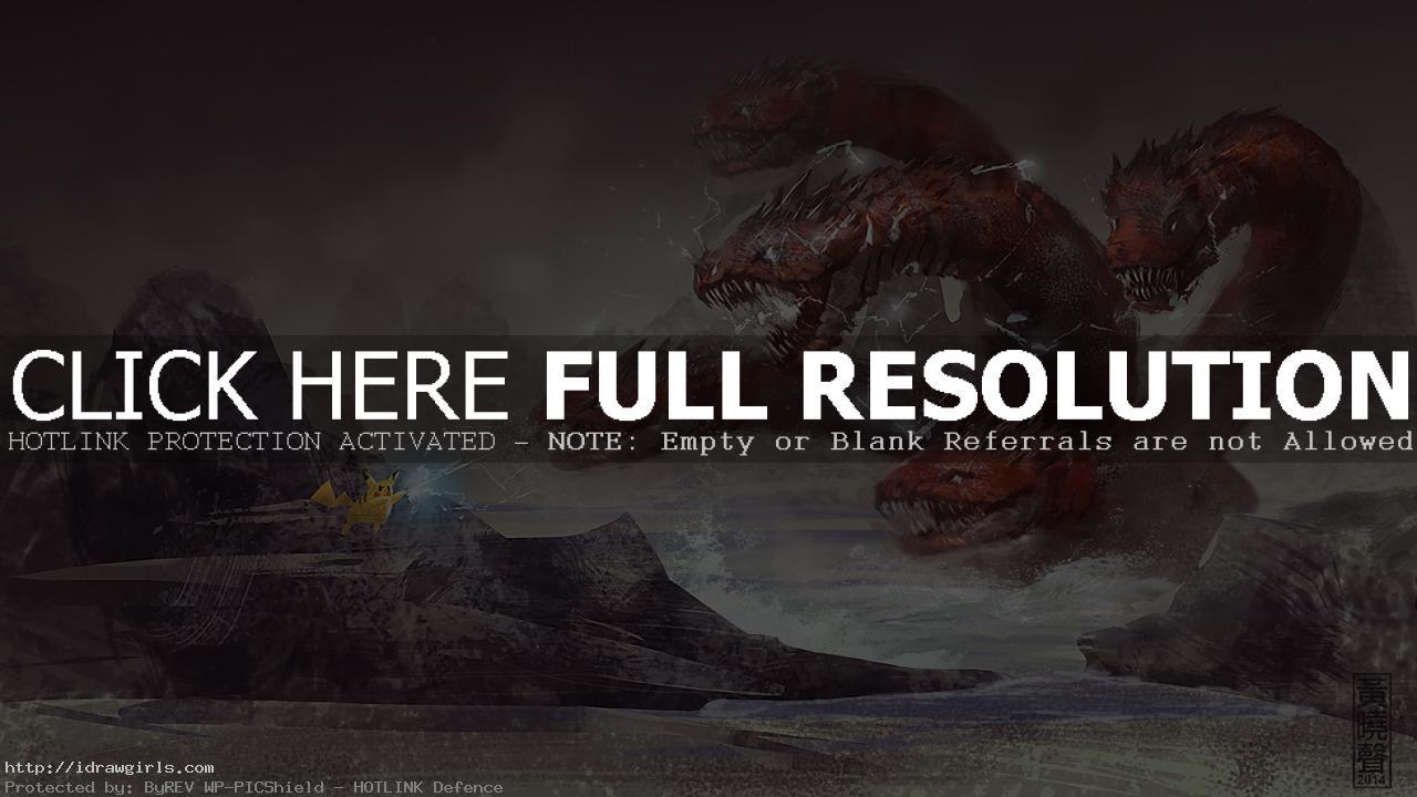 Hydra digital painting tutorial speedpainting