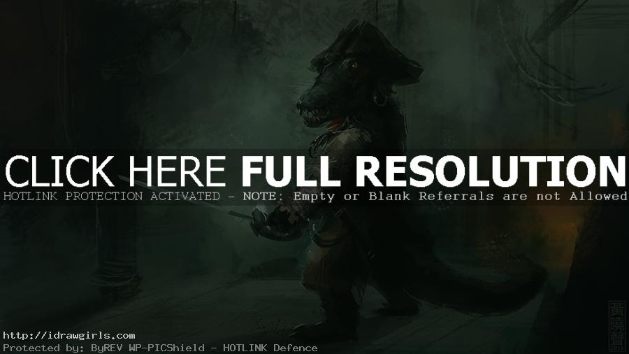 croc pirate speedpainting