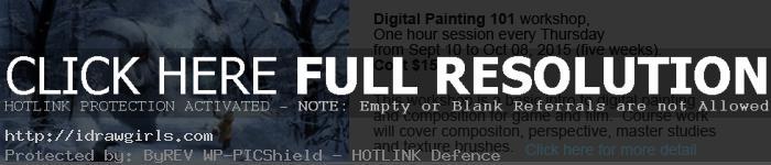 digital painting101 class