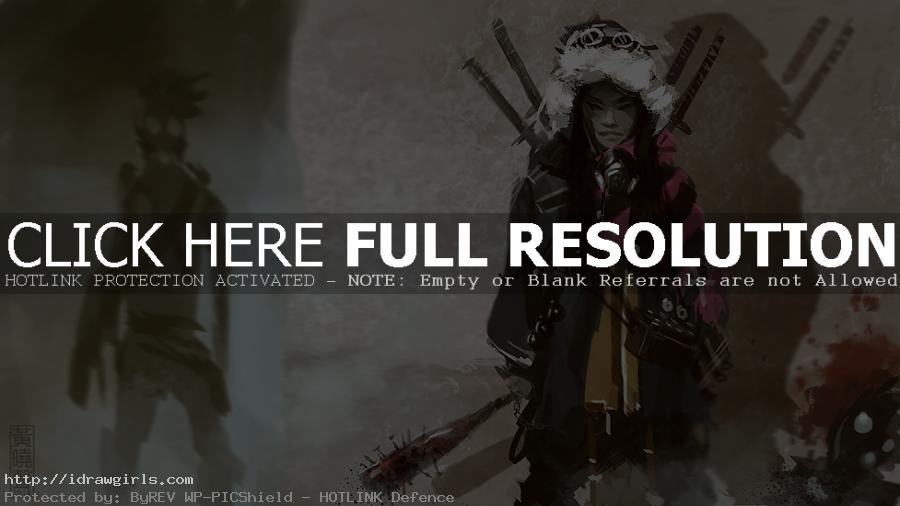 concept art queen of terror speedpainting