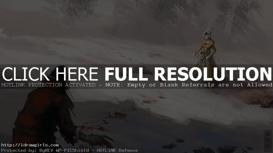 Vampire hunter speed painting step by step