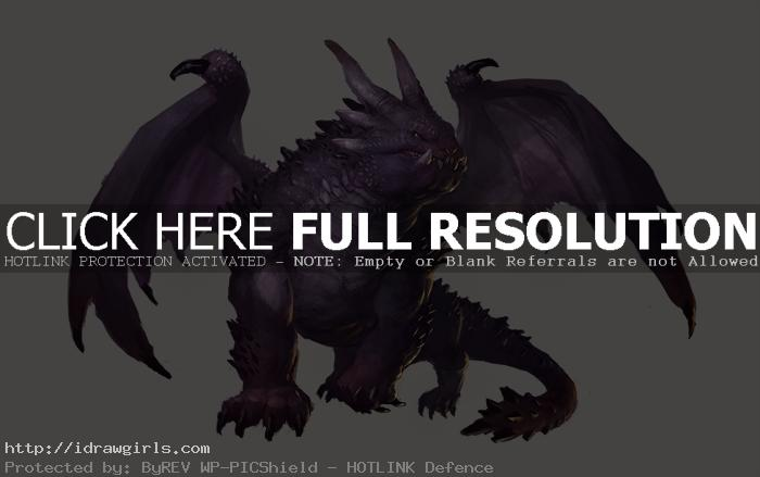Dragon character design digital painting tutorial