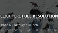 Wolf pack and Bison speedpainting