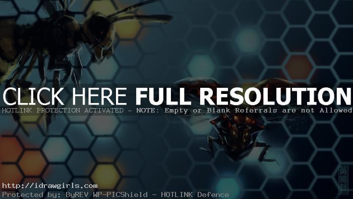 mech ladybug speed painting