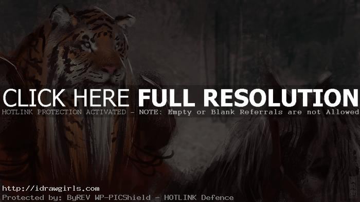 rakshasa warrior creature concept art