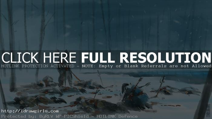 lone surviving warrior speed painting