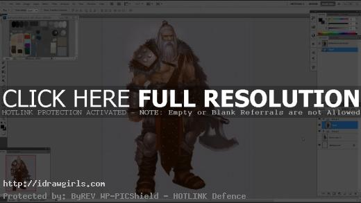 character design barbarian tutorial by xia taptara