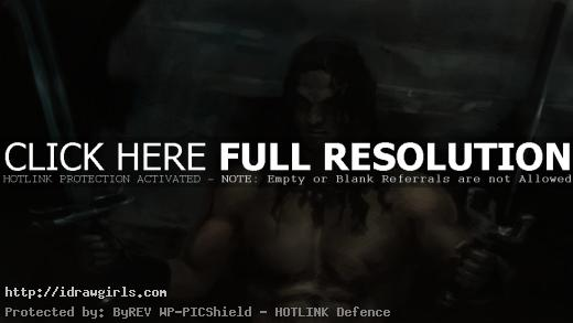 painting Conan the barbarian