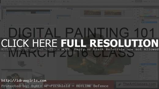 digital painting 101 march 2016