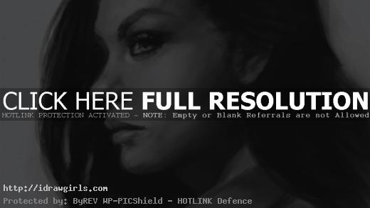 draw portraits side view