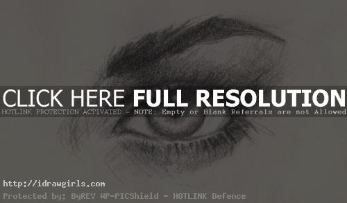 drawing realistic eye
